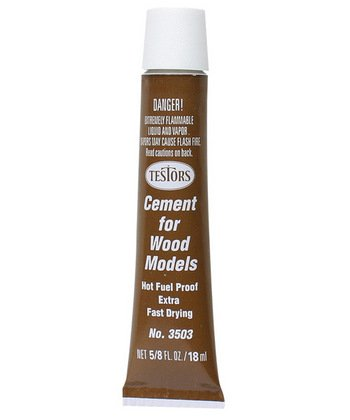 Testors Fast Drying Wood Cement 18ml