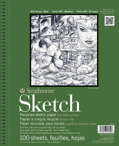 Strathmore Recycled Sketch Pad - Wyndham Art Supplies