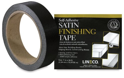 Lineco Satin Cloth Tape - Wyndham Art Supplies