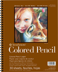 Strathmore Colored Pencil Pads - Wyndham Art Supplies