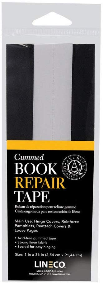 Gummed Book Repair Tape - Wyndham Art Supplies