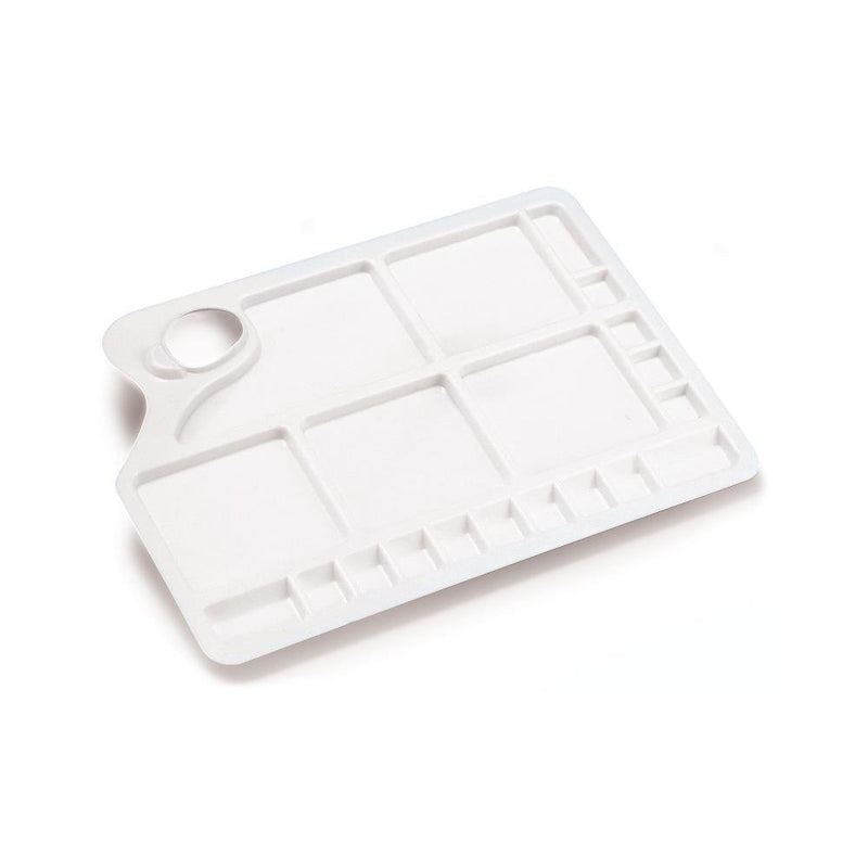 Large Plastic Palette Rectangular - Wyndham Art Supplies