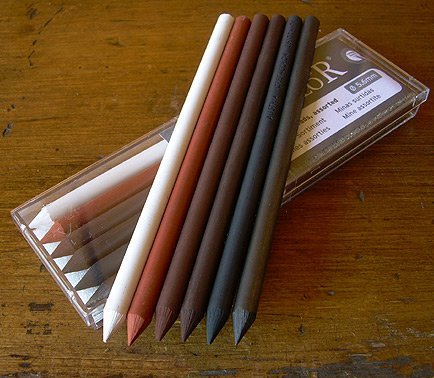 Cretacolor Assorted Leads (6) - Wyndham Art Supplies