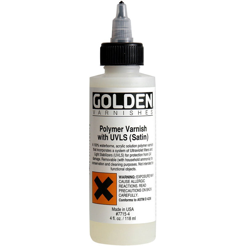 Golden Polymer Varnish with UVLS - Wyndham Art Supplies