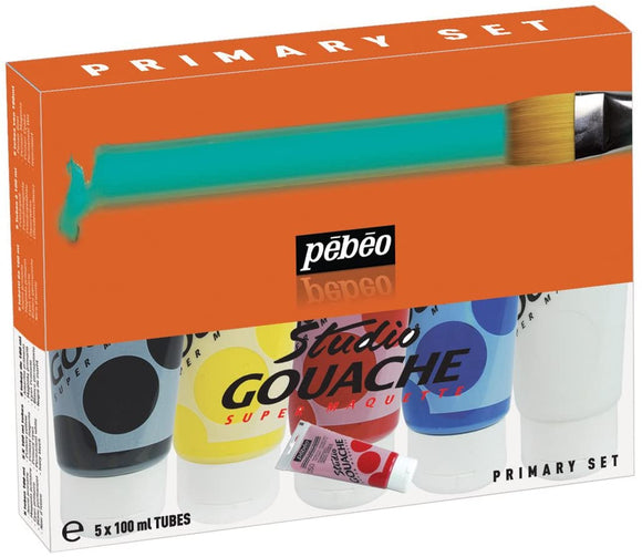 Pebeo Studio Gouache Sets - Wyndham Art Supplies