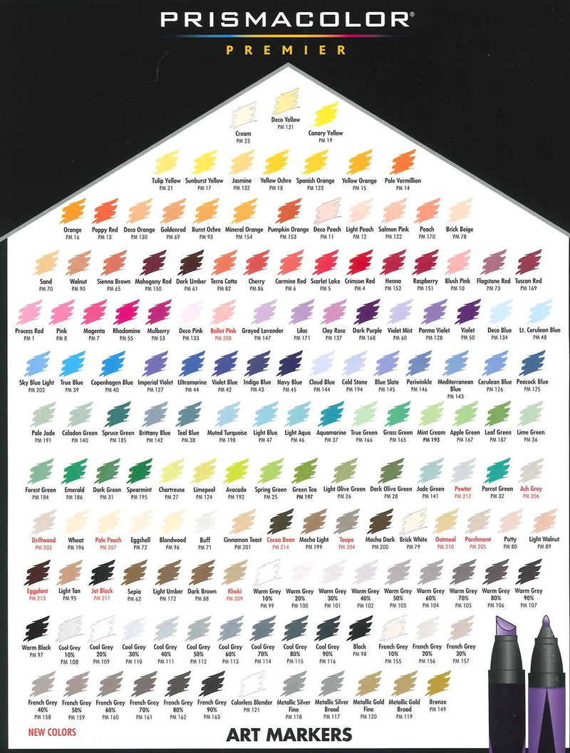 PrismaColor Brush Markers - Wyndham Art Supplies