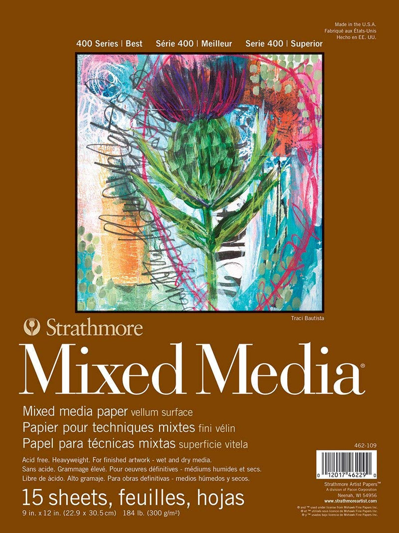 Strathmore Mixed Media 400 11x14 - Wyndham Art Supplies