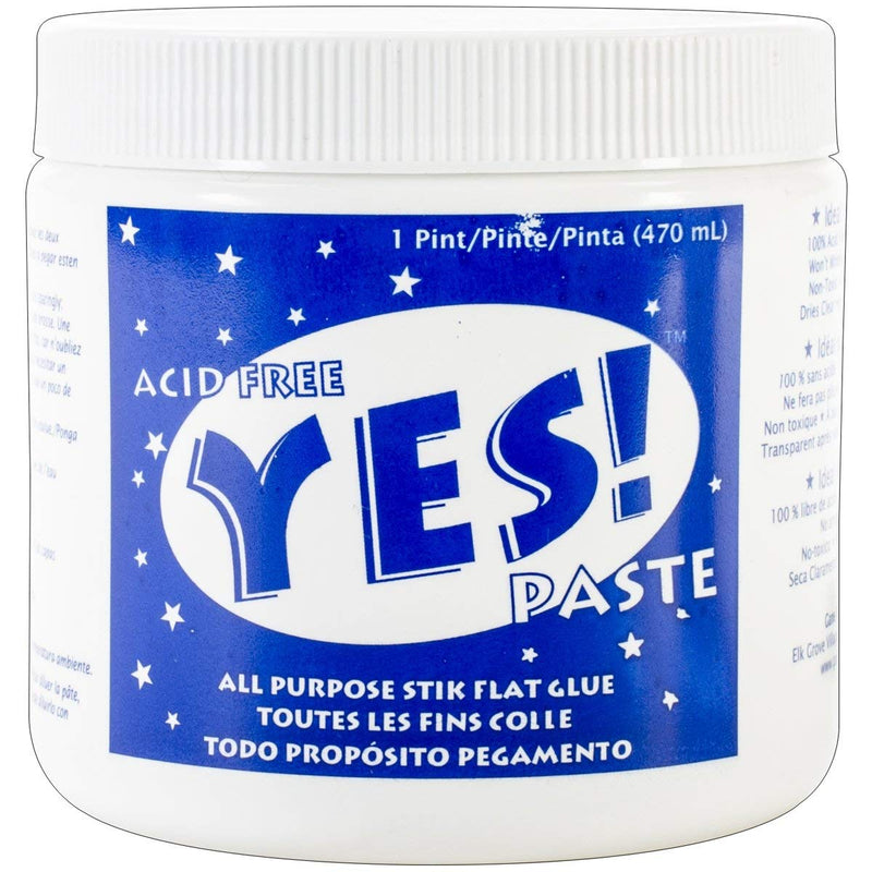 Yes! All-Purpose Paste 1-Pint - Wyndham Art Supplies