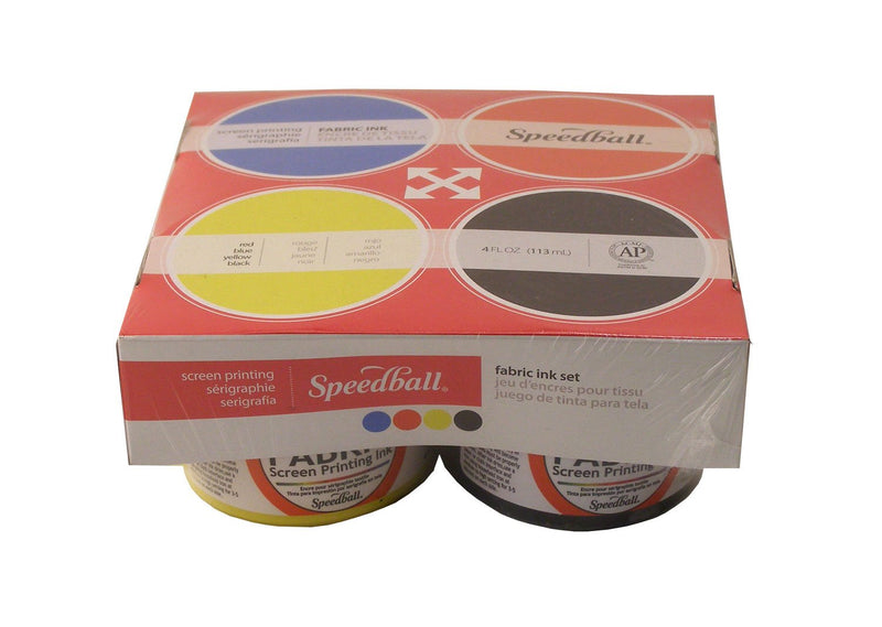 Speedball Screenprint Fabric Ink (4) - Wyndham Art Supplies