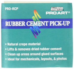 Rubber Cement Pick-Up Square