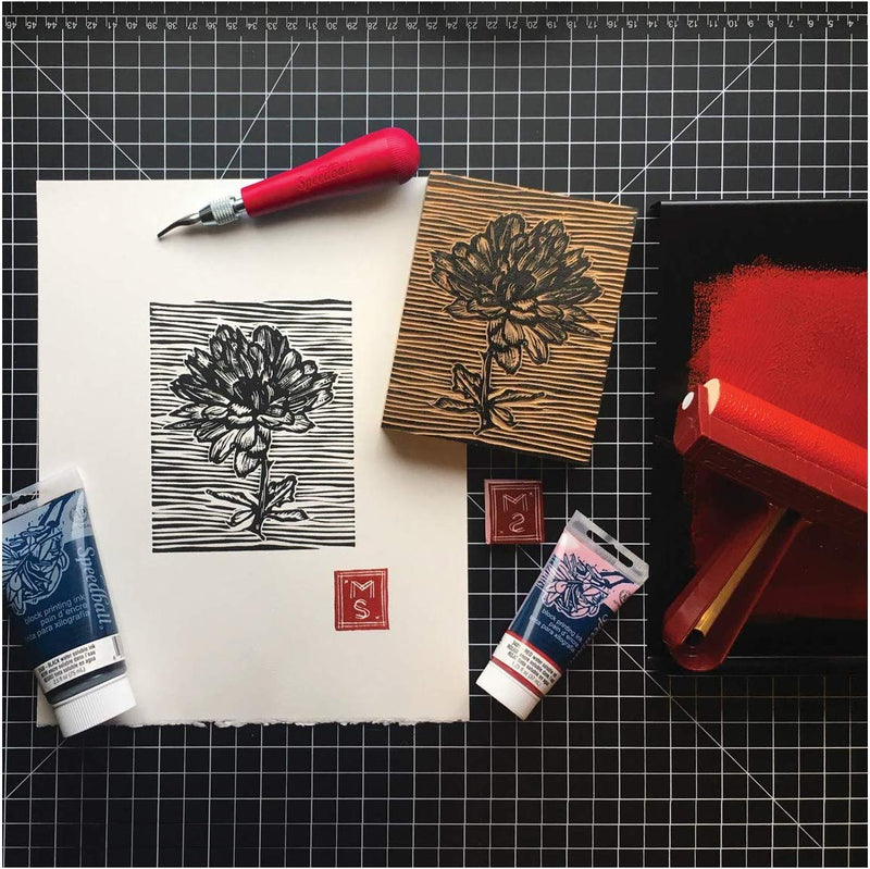 Speedball Deluxe Block Printing Kit - Wyndham Art Supplies
