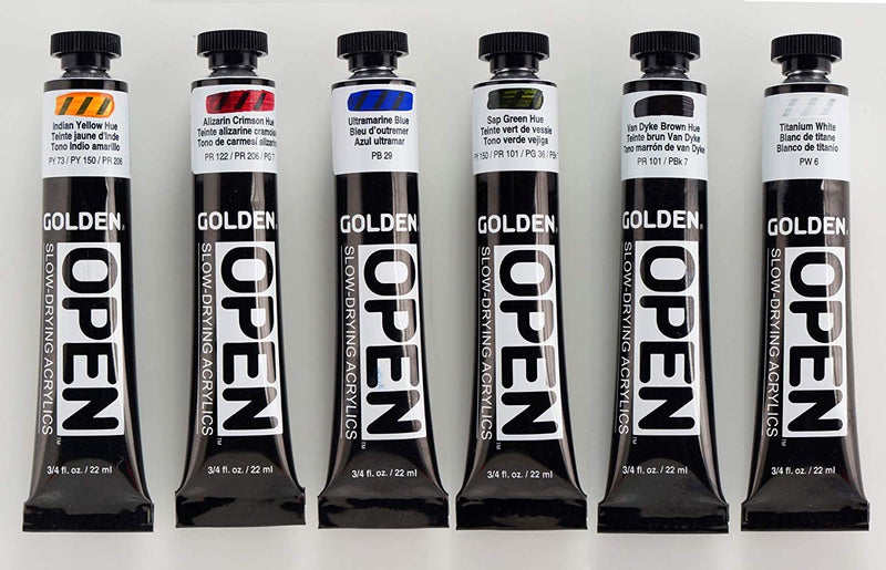 Golden OPEN Acrylic Paint Sets - Wyndham Art Supplies