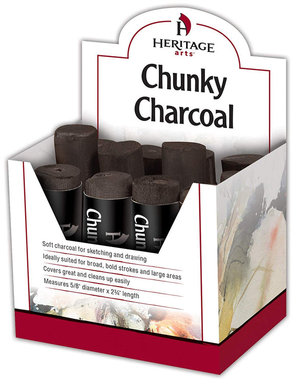 Heritage Chunky Charcoal - Wyndham Art Supplies