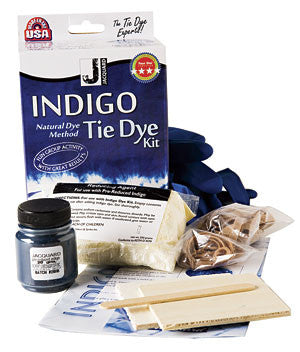 Jacquard Indigo Tie Dye Kit - Wyndham Art Supplies