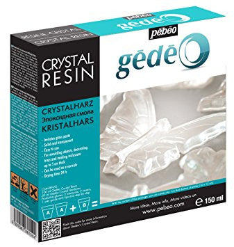 Gedeo Crystal Resin Kit - Wyndham Art Supplies