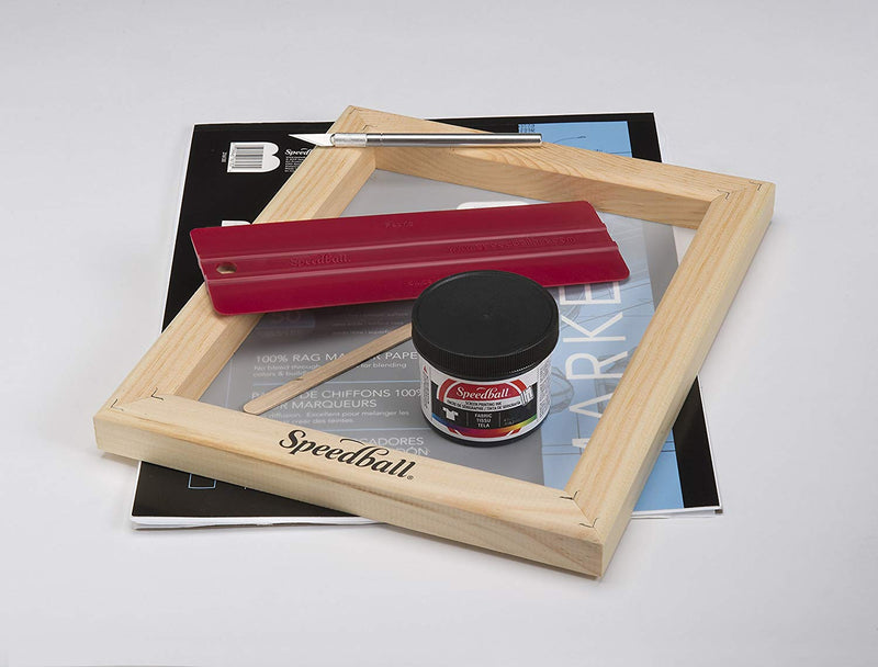 Speedball Paper Stencil Screenprinting Kit - Wyndham Art Supplies