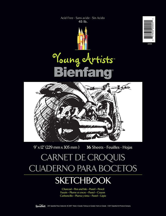Bienfang YA Sketchbook 9x12 - Wyndham Art Supplies