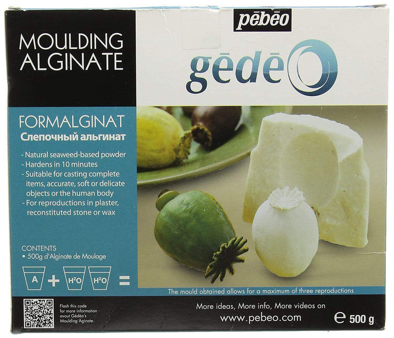 Gedeo Moulding Alginate, 500g - Wyndham Art Supplies