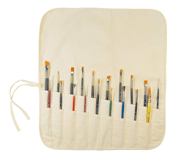 Brush Holder Roll-Up - Wyndham Art Supplies