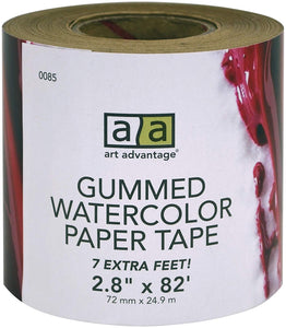 Gummed Watercolour Paper Tape - Wyndham Art Supplies
