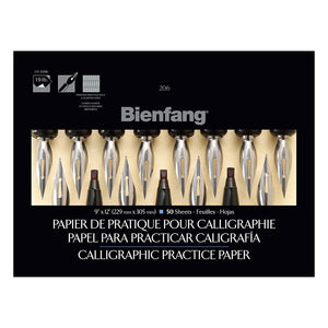 Bienfang Calligr Practice 9x12 - Wyndham Art Supplies