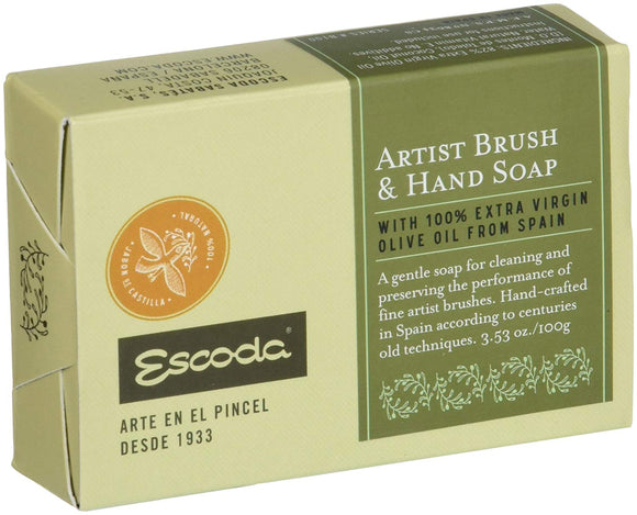 Escoda Brush & Hand Soap - Wyndham Art Supplies