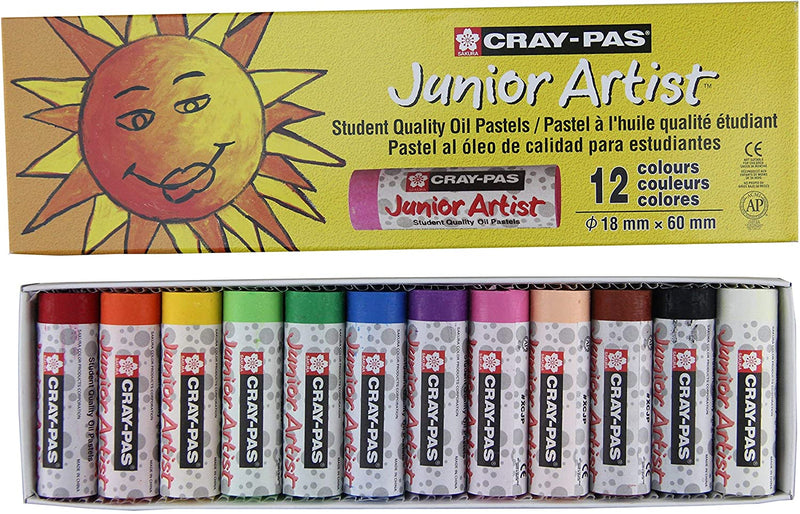 Cray-Pas Chubby Junior Artist Oil Pastels (12)
