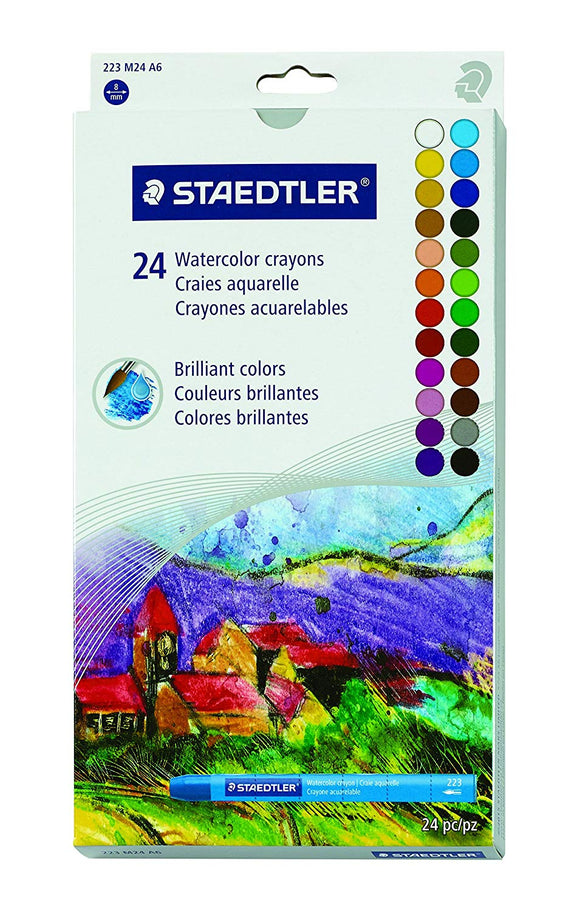 Staedtler Karat-Aqua Watercolor Crayon Sets - Wyndham Art Supplies