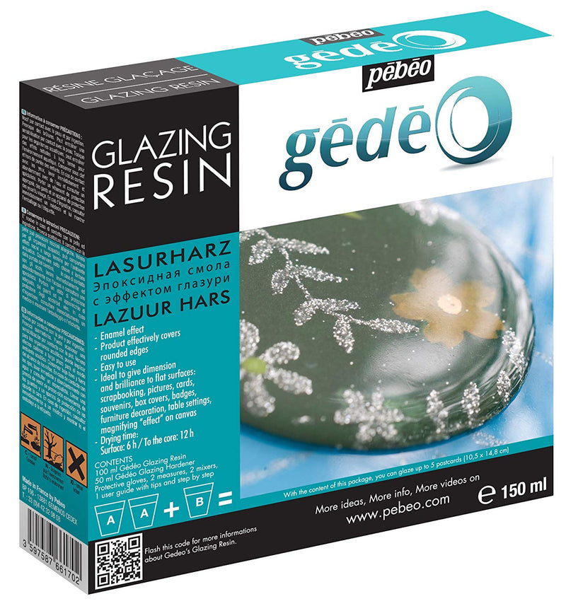 Gedeo Glazing Resin 150ml - Wyndham Art Supplies