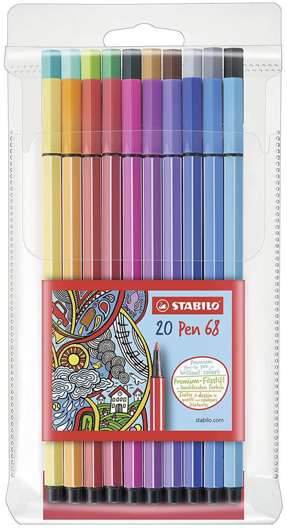 Stabilo Point 68 Marker Sets - Wyndham Art Supplies