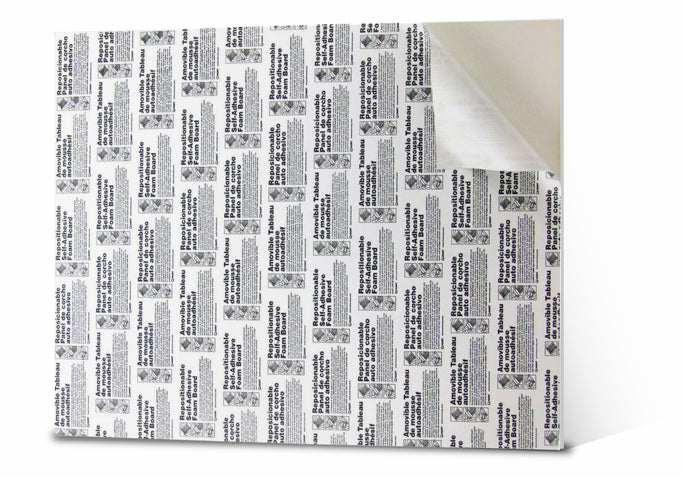 Self-Adhesive Foamboard - Wyndham Art Supplies