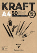Kraft Ribbed Sketch Pads - Wyndham Art Supplies