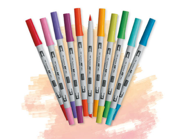 Tombow ABT Pro Alcohol-Based Markers