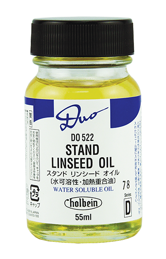 DUO Stand Linseed Oil 55ml - Wyndham Art Supplies