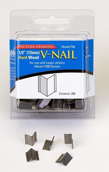 "LOGAN V-NAIL 1/2""  (200) - Wyndham Art Supplies"