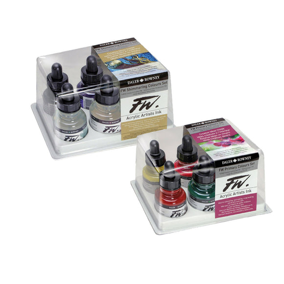 FW Inks Sets of Six - Wyndham Art Supplies