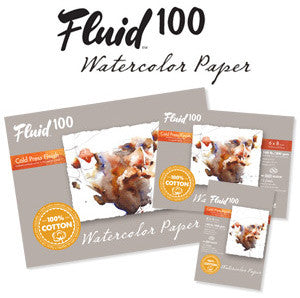 Fluid 100 Watercolour Blocks - Wyndham Art Supplies