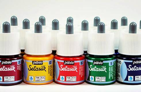 Pebeo SetaSilk Fabric Paint - Wyndham Art Supplies