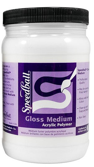 Speedball Acrylic Mediums - Wyndham Art Supplies