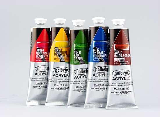 Holbein Acrylic Paint - Wyndham Art Supplies