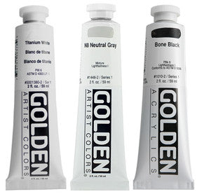 Golden Heavy Body Acrylics 2oz (cont'd) - Wyndham Art Supplies