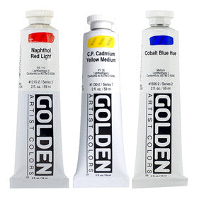 Golden Heavy Body Acrylics 2oz - Wyndham Art Supplies