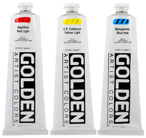 Golden Heavy Body Acrylics 5oz - Wyndham Art Supplies