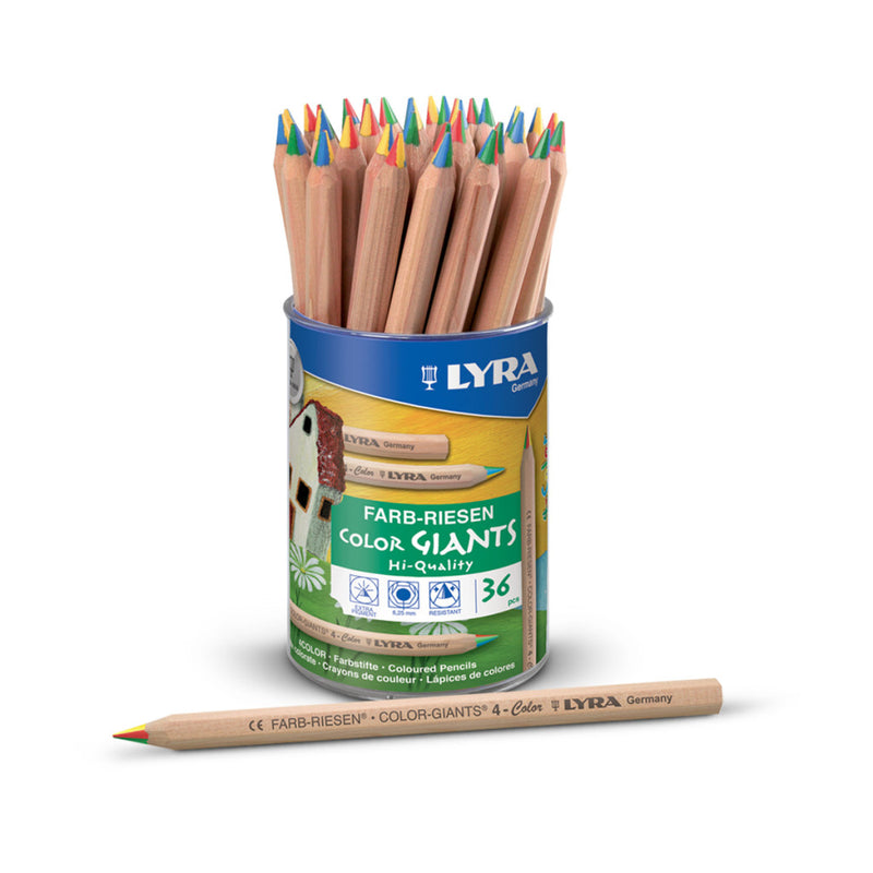 Lyra Color Giants 4-color - Wyndham Art Supplies