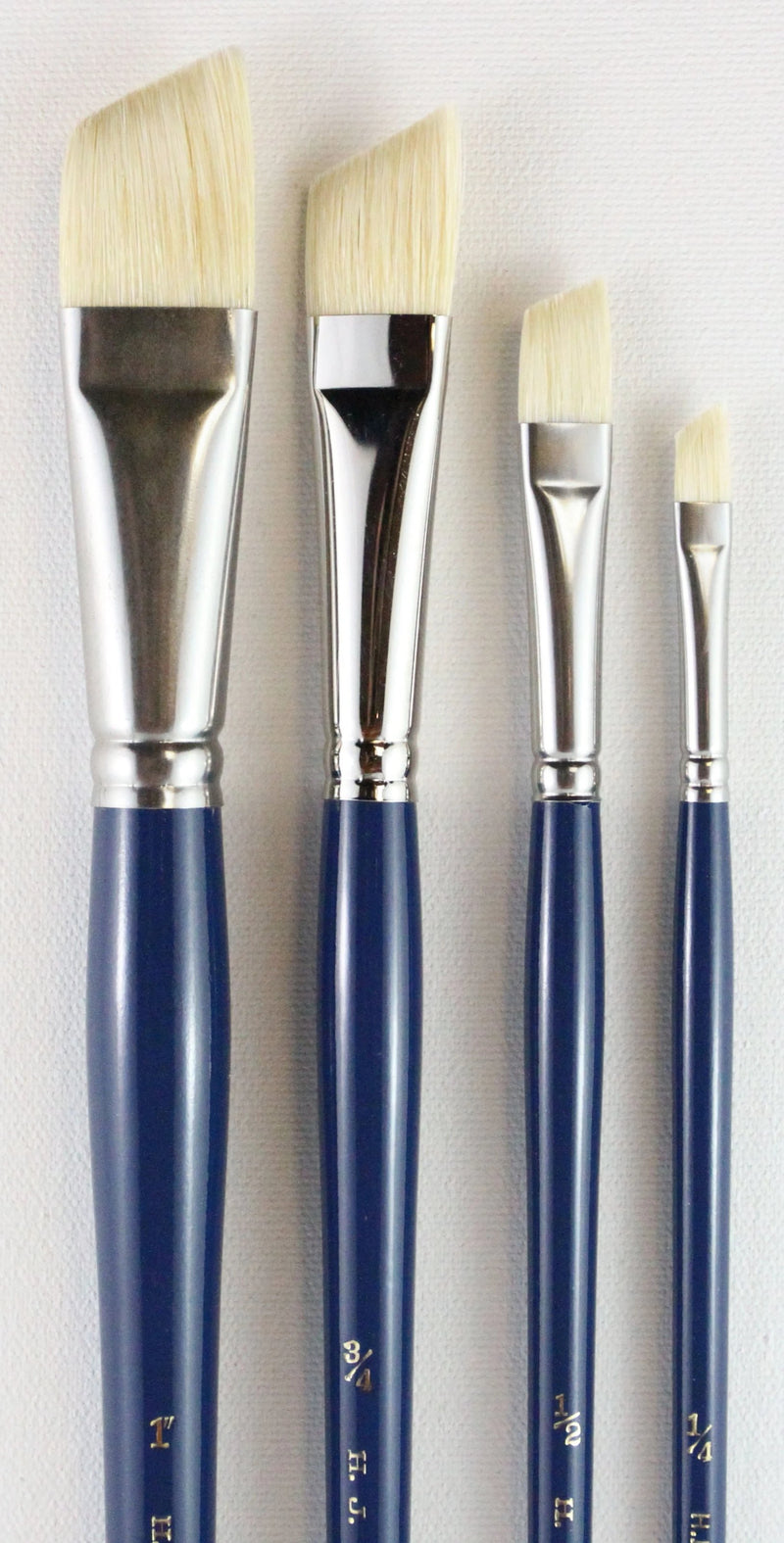 HJ Angular Bristle Brushes - Wyndham Art Supplies
