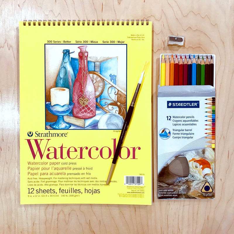 Watercolour Pencil Kit