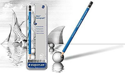 Staedtler Lumograph Pencil Set - Wyndham Art Supplies
