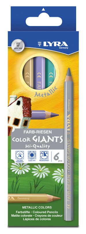 Lyra Giant Metallic x 6 - Wyndham Art Supplies