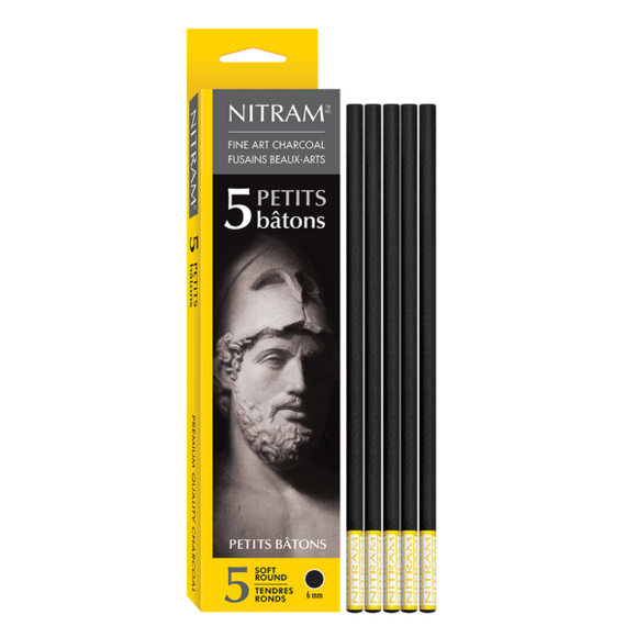 Nitram Soft Round Charcoal