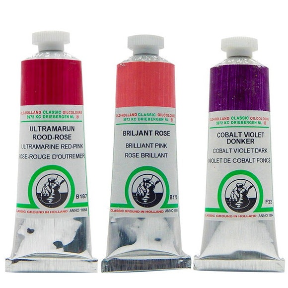 Old Holland Oil: Red & Purple - Wyndham Art Supplies